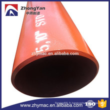 tubes soudés, soudé poids de tuyaux de pipe en acier, en acier