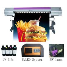 3.2 м Эпсон с dx5 dx7 печатающая головка высокоскоростной УФ принтер