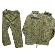Camouflage Raincoat for Adult, Comfortable and Durable