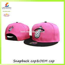 New style wholesale cheap hip hop flat cap/custom leather patch baseball hat and snap caps