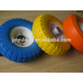samll 6''*2PU foam wheel use for Trailer, casters, trolley,shopping cart, stroller /PU foam rubber wheel/PU foam solid wheel