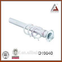 D19040 кристалл стеклянный finials для карнизов / квадратный карниз / угловая ванна карниз 16 / 19мм диаметр