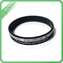 Bracelets en silicone faits sur commande bon marché de silicone de bracelet d'énergie de vente directe d'usine