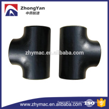 ANSI B16.9 carbon steel pipe fittings, 6 inch equal tee