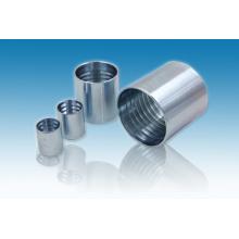 Parker Hydraulic Carbon Steel Zinc Plated Hydraulic Hose Ferrule