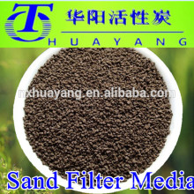 water treatment sand media filter manganese sand for iron removal