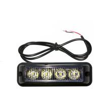 4 Watt 4X4 ATV Grille 12 V / 24 V LED Röhrenblitz Wasserdicht blinkende Notfall Warnsignal