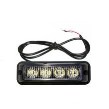 4 W 4X4 ATV Grille 12 V / 24 V LED Strobe Piscando À Prova D 'Água De Emergência Sinal de Aviso de Segurança Luz De Condução
