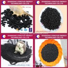 gaz toxique d'adsorption de charbon actif dans l'incinération des déchets