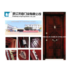 Turkish Style Steel Wooden Armored Door