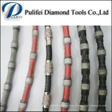 Sierra de cuerda de alambre Mable Quarry para corte de piedra y hormigón