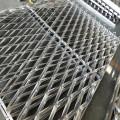 Malha expandida de alumínio do metal do revestimento