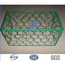 Cage en pierre soudée galvanisée à chaud