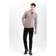 Camisola de Mistura de Cashmere para Moda Masculina 18brawm009