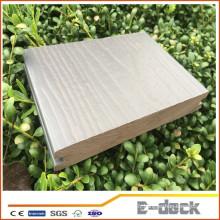 Revêtement de sol extérieur anti-séptique imperméable à l'eau wpc bois plate-forme en plastique carreaux composites planche de terrasse