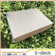 2016 new good quality Outdoor flooring waterproof antiseptic wpc solid decking composite tiles terrace board