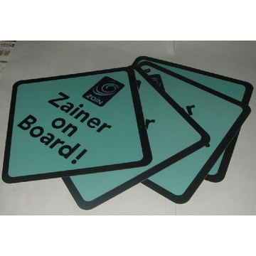 Personalised Car Signs (Zainer on Boards)