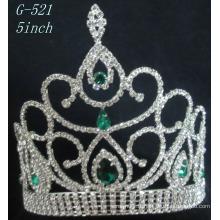 Bijoux de bijoux en argent Princess Tiara Femmes tête de cheveux tiara