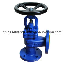 ANSI Flanged Two Ways Right Angle Gate Valve