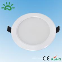 La luz de interior fina blanca de la alta calidad caliente de la venta 100-240v 4 pulgadas smd5730 llevó la luz 9w del punto del techo