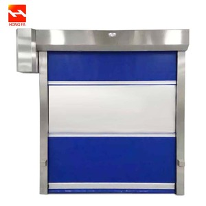 PVC Curtain Roll up High Speed ​​Door