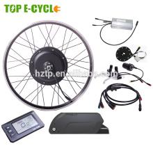 Equipo eléctrico de la bici del neumático gordo del CE / kit eléctrico de la bici de 48v 1000w con la batería
