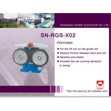 Роликовый направляющий башмак для лифта (SN-RGS-X02)