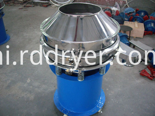 Mobile Vibrating Sieve Rotary Seperating