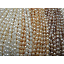 10-11mm Rice Pearl Strands (ES394)