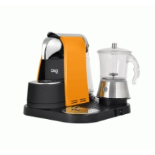 Lavazza Mio Machine with Glass Milk Frother
