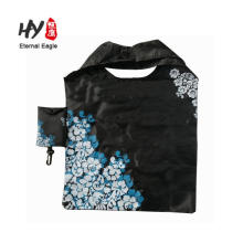OEM hot foldable nylon waterproof tote shopping bag