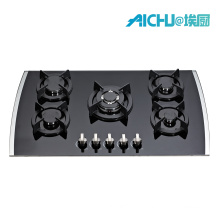8MMTempered Glass Hob Gas Cooker