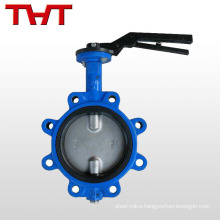 EPDM lined lug type water butterfly valve
