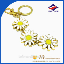 Handbag Decorarion Custom Made Little Daisy Keychain