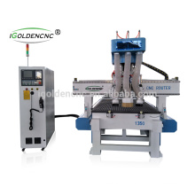 hot sale 5 axis wood working center/cnc router drilling machine