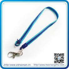 Promo Cadeaux 2015 Longe Zipper avec crochet en métal (HN-LD-054)