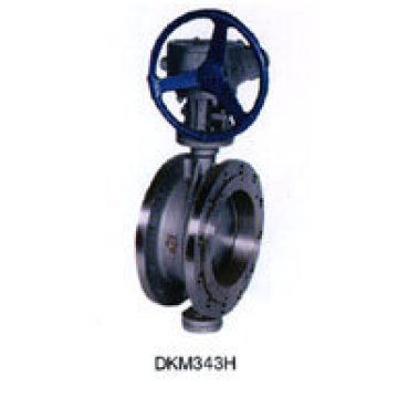 Cast Steel Wcb Butterfly Valve (D343H)
