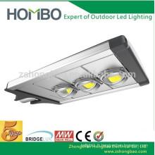 120W 12M 2cd / m Solar COB LED Street Light 5 ans de garantie