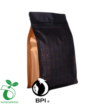 Aluminium Foil Flat Bottom Coffee Bean Packaging Bags