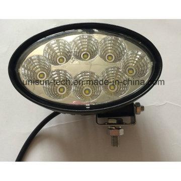 "12V-24V 6"" 40W 3000lm LED off-Road Work Light"