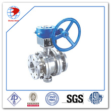 Ball Valve Stainless Steel A351 CF8 Class 300 API6d Standard Floating Ball Valve