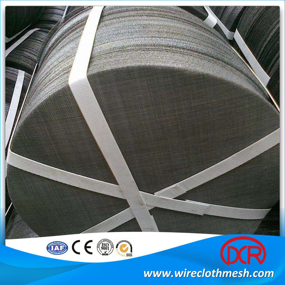 12/64 Mesh Black Wire Cloth