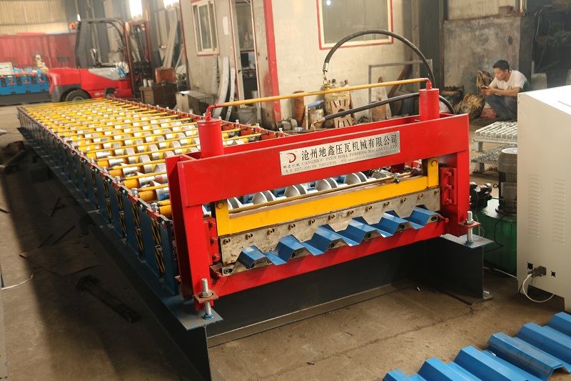 Cold Sheet Roof Bend Forming Machine