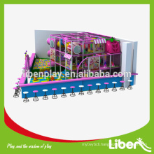 Playing Area Design Shopping Center Children Commercial Indoor Playground Equipment in Pink Color Theme Park