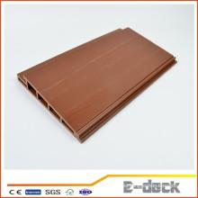 Impermeable respetuoso del medio ambiente de madera de plástico compuesto WPC tablero de pared decorativa