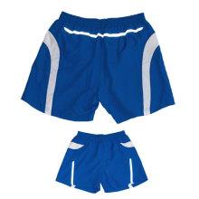 Yj-3032 cintura elástica Work Out Reflectiva Hi Vis Shorts Mens Vestuário de desporto personalizado