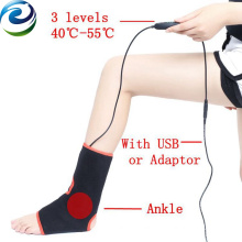 Sichuan Manufacturer 2A Current Far Infrared Light Ankle Heating Pad
