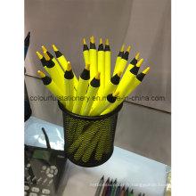 Crayon de couleur bois noir pour les enfants et les étudiants