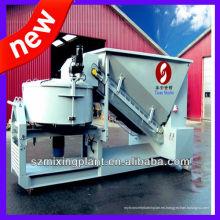 Pequeña planta de dosificación de hormigón portátil de 10-20m3 / h para la venta, precio de fábrica de la hornada / de la mezcla de concreto con funcionamiento de hornada alto
