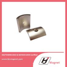 N42 Starken Seltenerd permanente gesinterten Arc Neodym-Magneten
